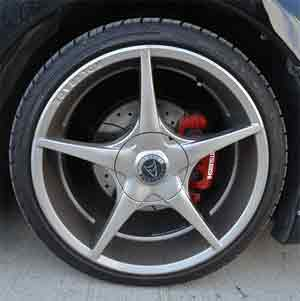 Higher performance models with low profile tires