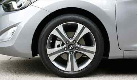 What are the advantages of low-profile tires?