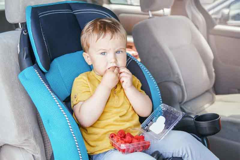 Car Trip Eating Tray for Kids