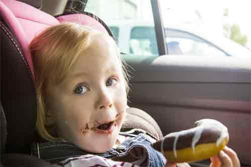 Car Trip Eating Tray