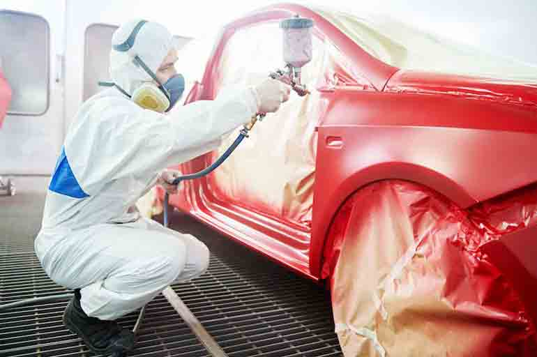 The Easy Way to Paint a Car